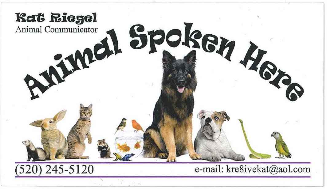 Animal Spoken Here